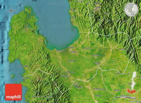 map philippines satellite satellite map of pangasinan