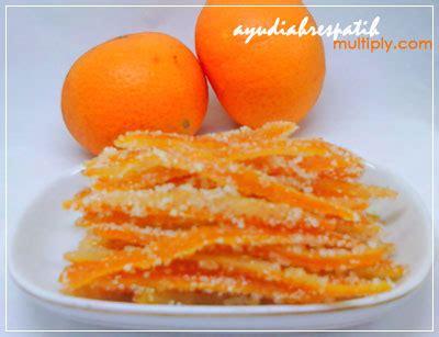Manisan Kulit Jeruk Kering Mandarin Orange Peel candied orange peel alias manisan kulit jeruk