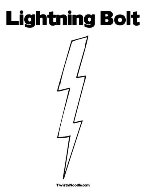 lightning bolt template lightning bolt template color sheets