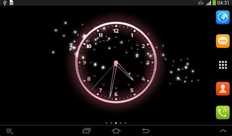 live clock themes for android live clock wallpaper free android live wallpaper download
