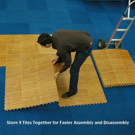 portable floor tile modular portable floor