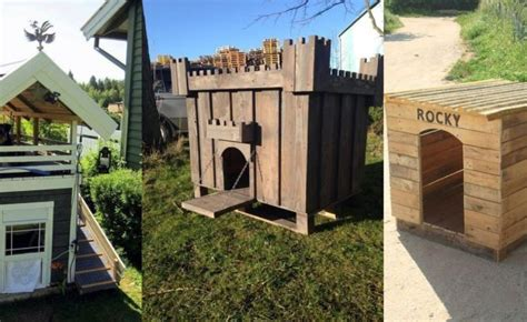 how to construct a house how to build a dog house with pallets