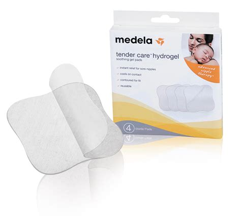 comfort gel pads breastfeeding medela tender care hydrogel pads