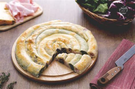 cucinare focacce rustiche ripiene ricetta girella di sfoglia ripiena la ricetta di