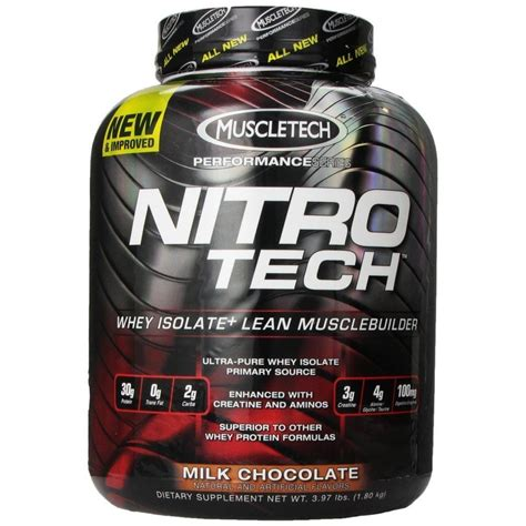 Whey Protein Nitro Tech buy muscletech nitrotech whey protein isolate 4 lbs chocolate india buy muscletech