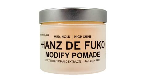 Pomade Hanz De Fuko the best pomades for with enough power to keep your hair the manual