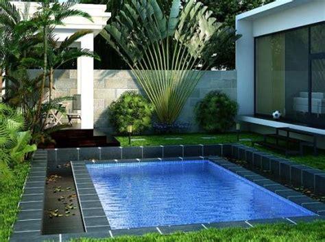 jasa desain taman rumah design kolam renang pribadi denah new desain rumah dengan kolam renang minimalis