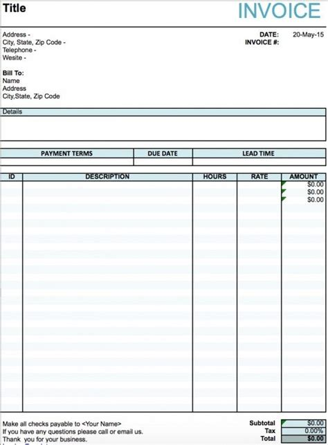 performance invoice template performance invoice format rabitah net