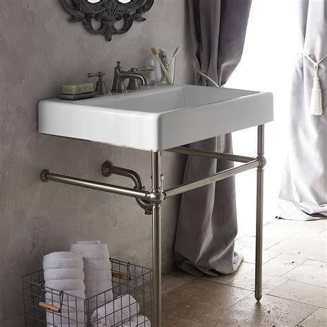american standard console oak hill classic bathroom collection from dxv