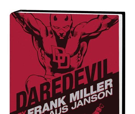 libro daredevil by frank miller daredevil by frank miller klaus janson omnibus hc new printing hardcover comic books
