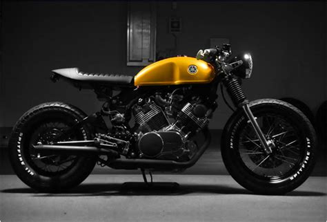 Handmade Cafe - custom yamaha virago cafe racer by docs chops