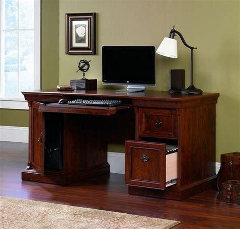 sauder computer desk brushed maple desk design
