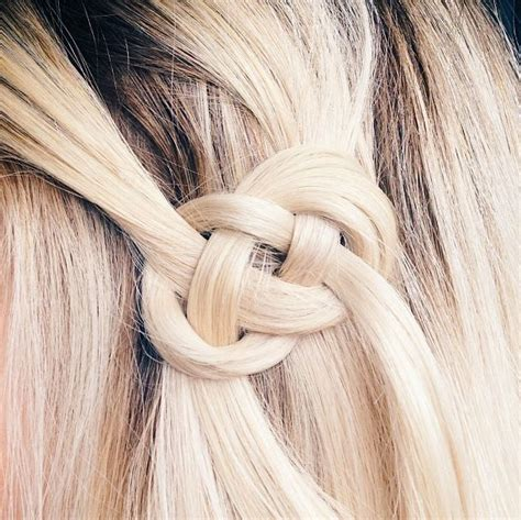 knot hair styles 22 creative hair knots styles weekly