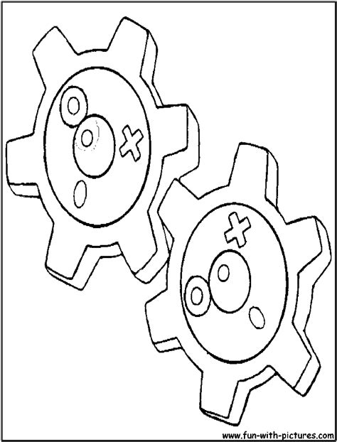 klink pokemon coloring pages klink coloring page