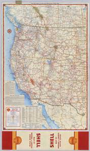 maps western united states road map of the western united states