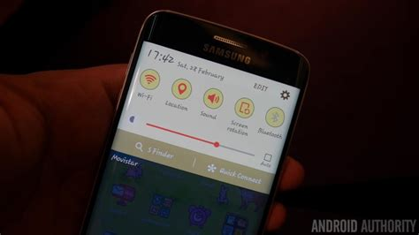 s6 edge custom themes a closer look at samsung s theming system for the galaxy s6