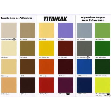 Titanlak Esmalte Satinado Colores
