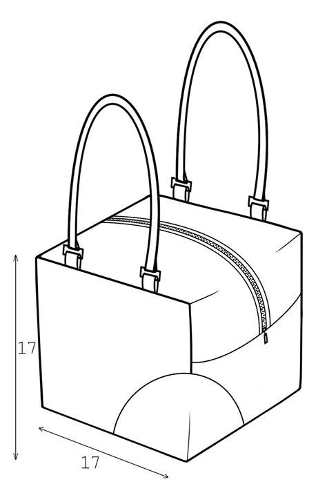 drawing bag pattern bag sewing pattern 3001 made to measure sewing pattern