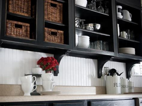 black paint for kitchen cabinets painted kitchen cabinet ideas hgtv