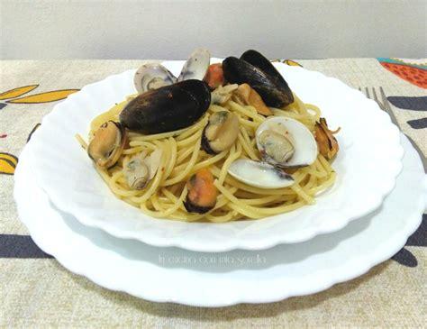 cucinare vongole fresche ricerca ricette con spaghetti cozze e vongole