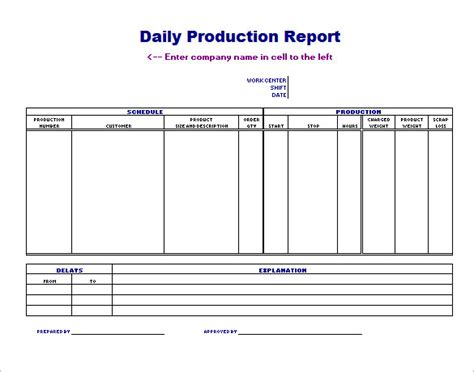 24 production scheduling templates pdf doc excel