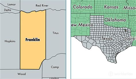 franklin texas map franklin county texas map of franklin county tx where is franklin county