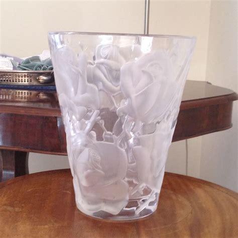 vaso lalique vaso lalique catawiki