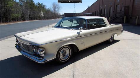 1963 chrysler imperial crown 1963 chrysler imperial crown 2 door hardtop start up