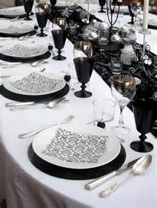 black and white table setting 58 elegant black and white wedding table settings