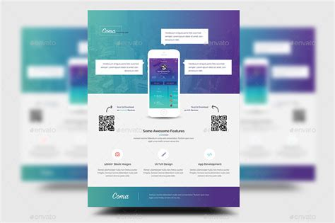 design app free download mobile app promotion flyer templates by rtralrayhan