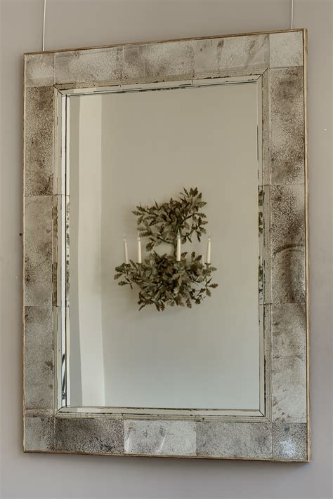 Sectional Mirrors by Sectional Panelled Mirror Charles Saunders