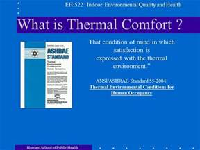 what is thermal comfort philip demokritou ph d part i ppt video online download
