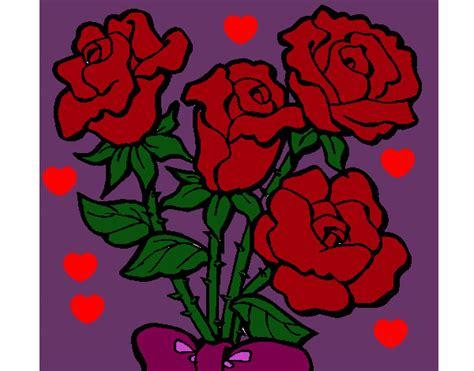imagenes para dibujar rosas y corazones imagenes de dibujos de rosas con corazones imagui