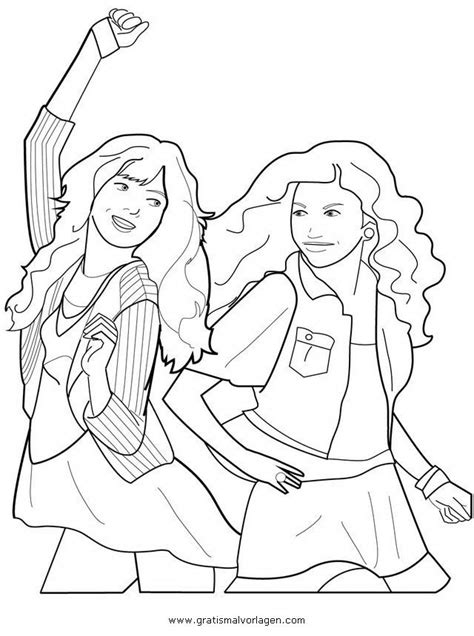 free coloring pages of shake it up on disney c