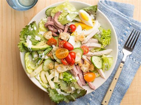 salad chef chef s salad recipe food network kitchen food network