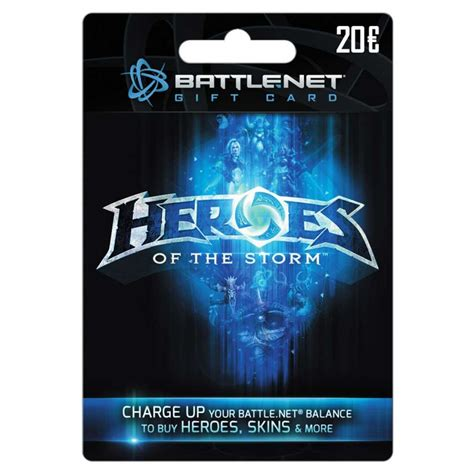 Blizzard Gift Card - blizzard heroes of the storm gift card 20 euro nl bart smit