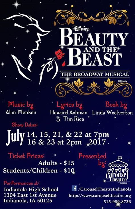 and the beast musical disney s and the beast the musical