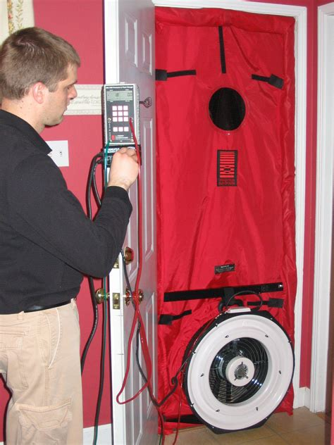 Blower Door Testing by Blower Door Test Swiftsure Energy Services
