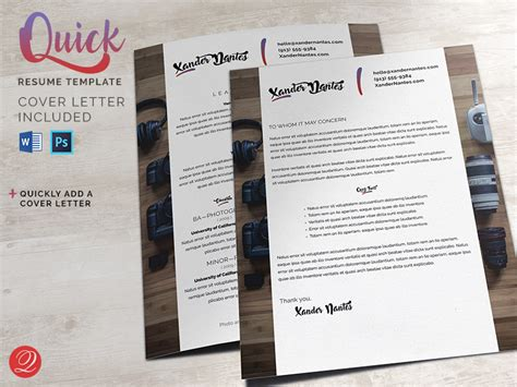 Cursive Q Resume by Resume And Cover Letter Template Cursive Q