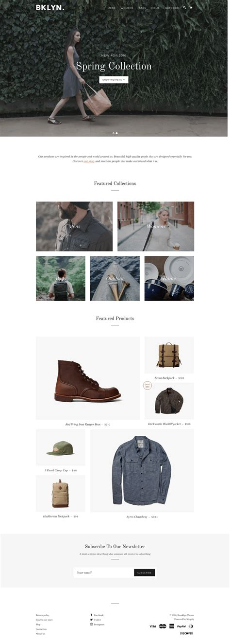 A Guide To Shopify Themes Templates And Design Tools Merchant Maverick Shopify Store Templates