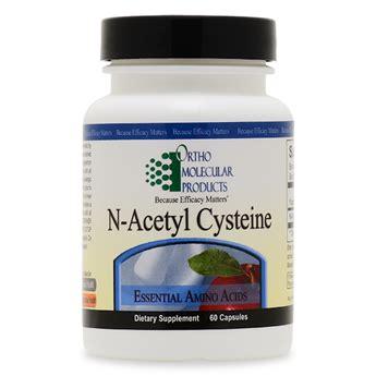 supplement n acetyl cysteine n acetyl cysteine