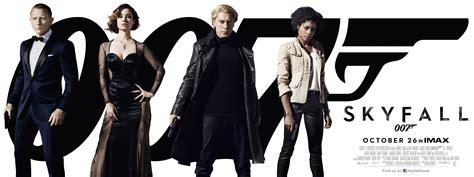 james bond film in cinema skyfall posters collider