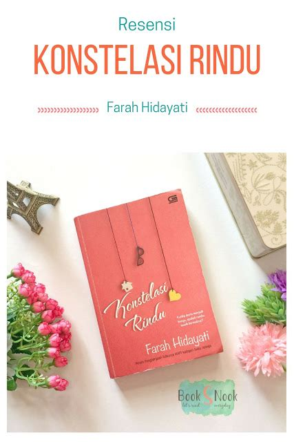 Novel Konstelasi Rindu books nook