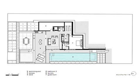 modern home floorplans modern open floor house plans modern house dining room