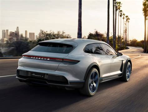 porsche mission e red porsche mission e cross turismo cuv wordlesstech