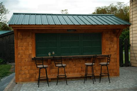 outdoor tiki bars uniquegardensheds roch