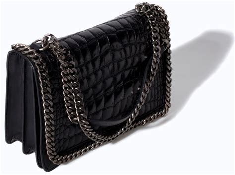 Tas Chanel Boy Croco Hdr best budget buys zara croco print schoudertas the bag hoarderthe bag hoarder
