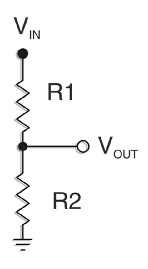 voltage divider with load resistor resistive voltage dividers electronic products