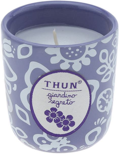thun candele thun candela in vasetto mini quot giardino segreto quot complementi