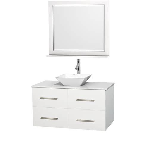42 bathroom mirror wyndham collection wcvw00942swhwsd2wm36 centra 42 inch